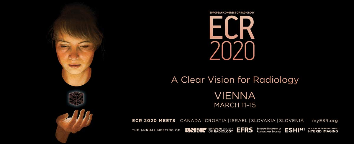 Banner for ECR2020 Convention